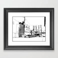 bloomington II Framed Art Print