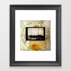 Ephemera 3 Framed Art Print