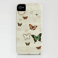 Butterfly Coordinates iii Slim Case iPhone (4, 4s)