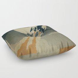 Night Launch Floor Pillow
