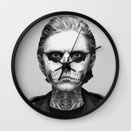 Portrait: Tate Langdon Wall Clock