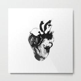 Heart Diaphonized Metal Print