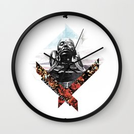 """Outcasts""   collage art Wall Clock"