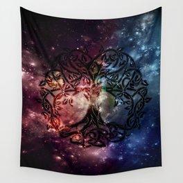 Viking Tree of life Wall Tapestry