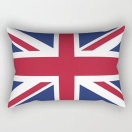 United Kingdom Flag Rectangular Pillow