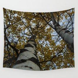 Trembling Aspen Trees in Jasper National Park Wall Tapestry