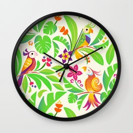LE PERROQUET Wall Clock