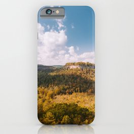 View from Chimney Top Rock - Red River Gorge, Kentucky iPhone Case