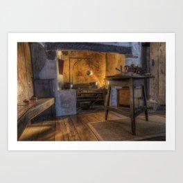 Olde Kitchen Art Print