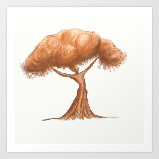 Lady Tree  Art Print