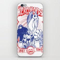 the herculoids iPhone Skin