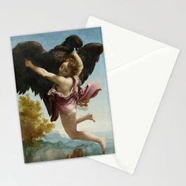 """Antonio Allegri da Correggio  """"Ganymede Abducted by the Eagle"""" Stationery Cards"""