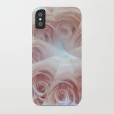 crystal rose Slim Case iPhone X