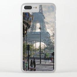 manège parisienne Clear iPhone Case