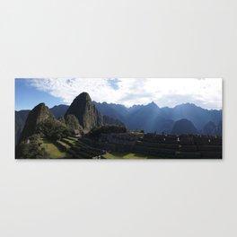 Machu Pichu Canvas Print