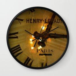 L'or du temps. Wall Clock
