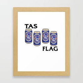 Cascade Lager - Breakfast of Champions Framed Art Print