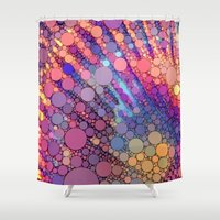 bubbles Shower Curtains featuring bubbles by Sylvia Cook Photography