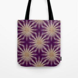 floral transparencies pattern Tote Bag