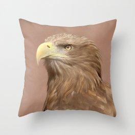 Sea Eagle Throw Pillow