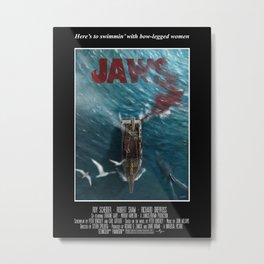 Jaws - 1975 variant Metal Print