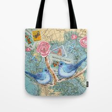 Where Shall We Fly Dear? Tote Bag
