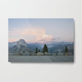 Half Dome at Sunset Metal Print