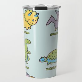 know your dinosaurs Travel Mug