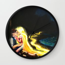 Now I See The Light  Wall Clock