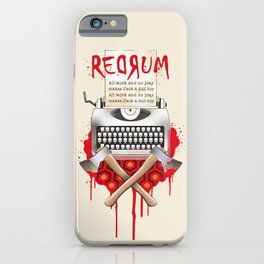 Shining Jack Torrance iPhone Case