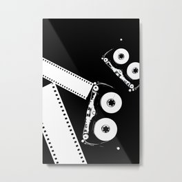Tape and Film Metal Print