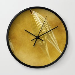 meadow banners #2 Wall Clock
