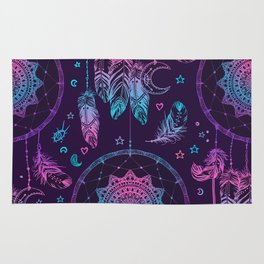 Ultra Violet Dreams, Dream Catcher Enchantment Rug