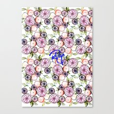 Citrus Fruits Canvas Print