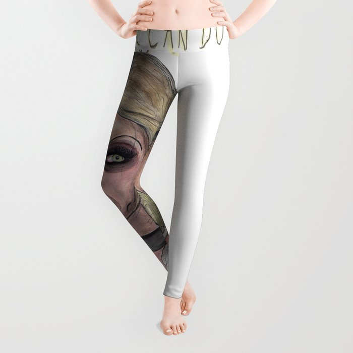By hook or by crook. Leggings