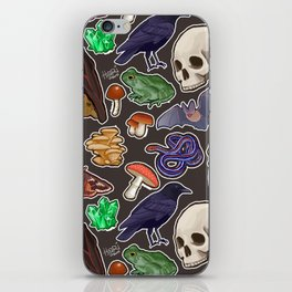 Spooky pattern iPhone Skin