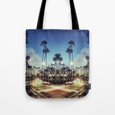 X Marks the Spot (Blue) Tote Bag