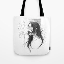 Pain into anger Tote Bag