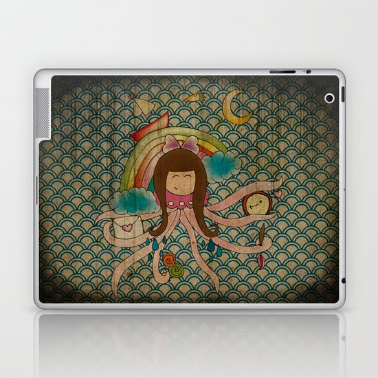 I'm A Little Octopus Laptop & iPad Skin