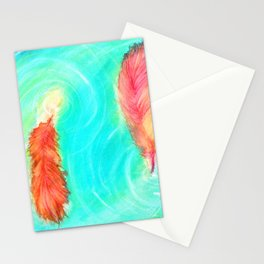 Fire and the Flood Stationery Cards