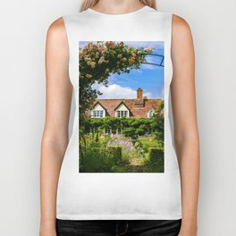 Cottage garden. v2 Biker Tank