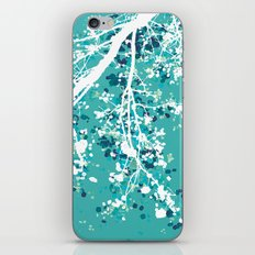 Carefree Days (mint edition) iPhone Skin