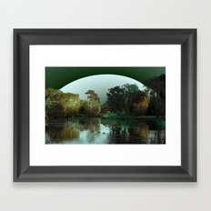 Even small dreams can live large Framed Art Print