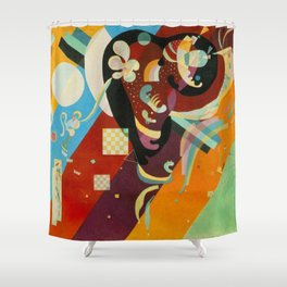 Vassily Kandinksy Composition IX. Shower Curtain