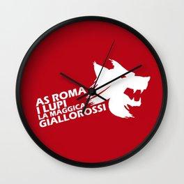 Slogan: Roma Wall Clock
