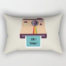 Oh ! Snap !  Rectangular Pillow