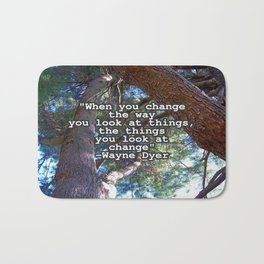 Change Bath Mat