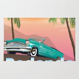 Redondo Beach Los Angeles Rug