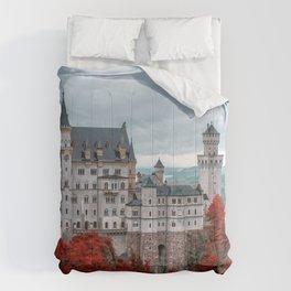 Breathtakingly Beautiful Fairytale Neuschwanstein Castle Schwangau Bavaria Germany Europe Ultra HD Comforters