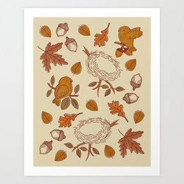 Fly Away Fall Art Print